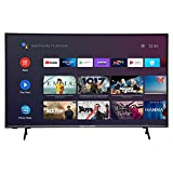 MEDION X16505 163,8 cm (65 Zoll) UHD Fernseher (Android TV, 4K Ultra HD, HDR10, Micro Dimming, Netflix, Prime Video, WLAN, Triple Tuner, DTS, PVR, Bluetooth)