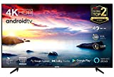 TCL 43BP615 (108cm) LED Fernseher 43 Zoll Smart TV (4K Ultra HD, HDR 10, Triple Tuner, Android TV, Micro Dimming PRO, Prime Video, Alexa und Google Assistant, Chromecast built-in) Schwarz