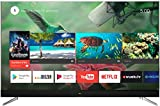 TCL U49C7006 Fernseher 124 cm (49 Zoll) Smart TV (4K, Android TV, HDR 10, Triple Tuner, Micro Dimming, Sound by JBL) Titanium