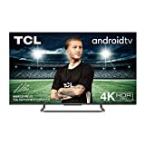 TCL 55P815 Fernseher 139 cm (55 Zoll) Smart TV (4K UHD , Micro dimming Pro, Motion Clarity Pro, Dolby Vision & Atmos, Android TV, Alexa und Google Assistant) Schwarz [Modelljahr 2020]